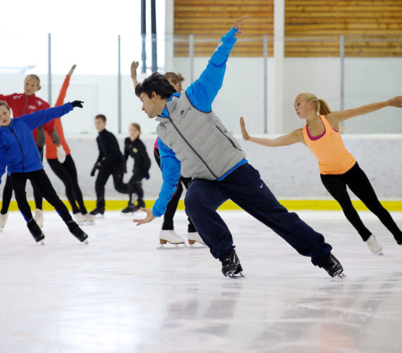 La Skating School of Switzerland tire le meilleur des infrastructures du Palladium!