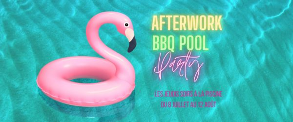 Afterwork BBQ Pool Party